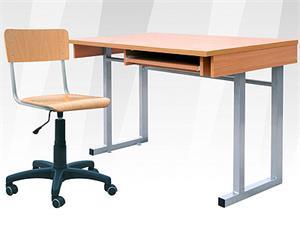 Comp II PC stôl. pracovný s 1 výsuvom