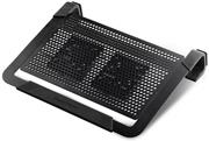 Cooler Master NotePal U2 Plus, chladič pre notebook, čierny