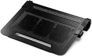 Cooler Master NotePal U3 PLUS, chladič pre notebook, čierny