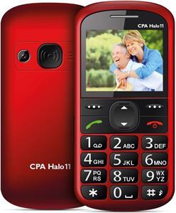 CPA Halo 11, červený, telefón pre seniorov