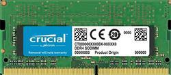 Crucial, DDR4, SO-DIMM, 2666 MHz (PC4-21300), 4 GB, CL19, SRx8, Unbuffered, 260-pin