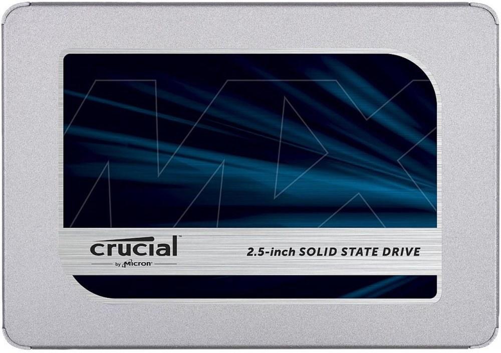 "Crucial MX500, 2,5"", SSD, 1TB 7mm"