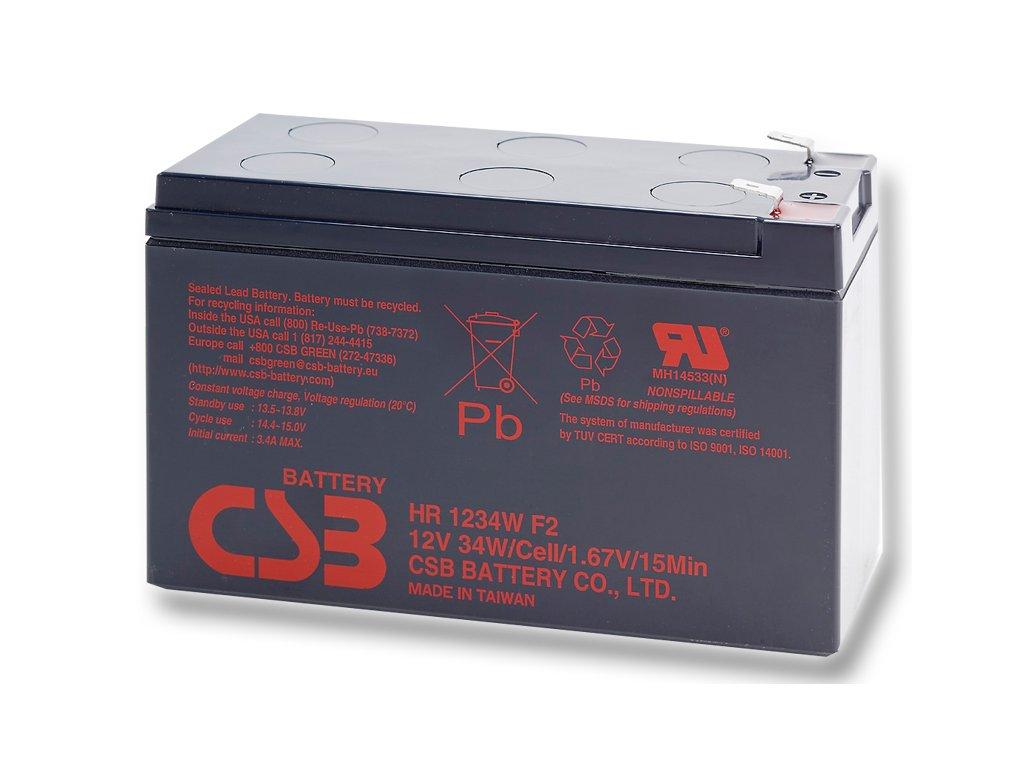 CSB batérie HR1234W F2 12V/9Ah
