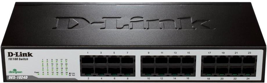 D-Link DES-1024D 24-port 10/100Mb switch