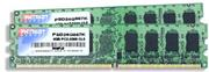 DDRAM2 4GB (2x2GB) Patriot 800 CL6 Non-ECC (PSD24G800K)