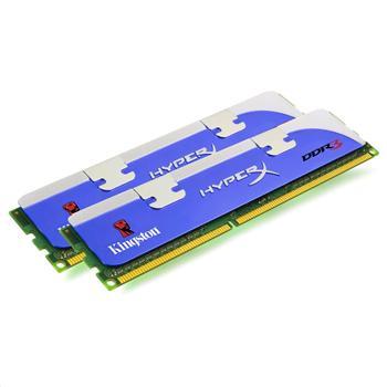 DDRAM3 8GB (2x4GB) Kingston 1600Mhz CL9 XMP (KHX1600C9D3K2/8GX)