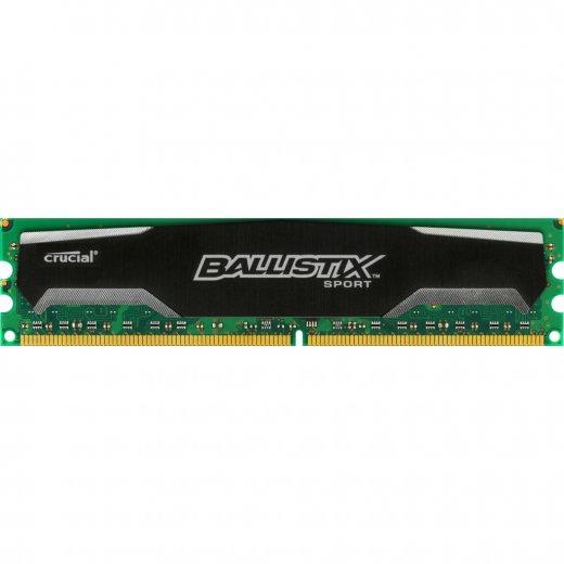 DDRAM3 8GB Crucial Ballistix sport 1600MHz CL9 1.5V (BLS8G3D1609DS1S00