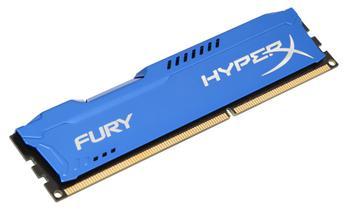DDRAM3 8GB Kingston HyperX Fury 1600MHz Blue
