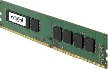 DDRAM4 8GB Crucial 2133MHz CL15 Dual Ranked UDIMM 1.2V