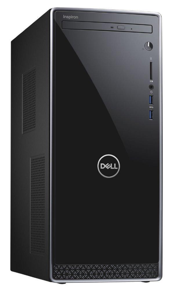 DELL Inspiron 3671/ i7-9700/ 8GB/ 256GB SSD + 1TB/ DVDRW/ Nv GF 1650 4GB/ WiFi/ W10Pro/ 3Y Basic on-site