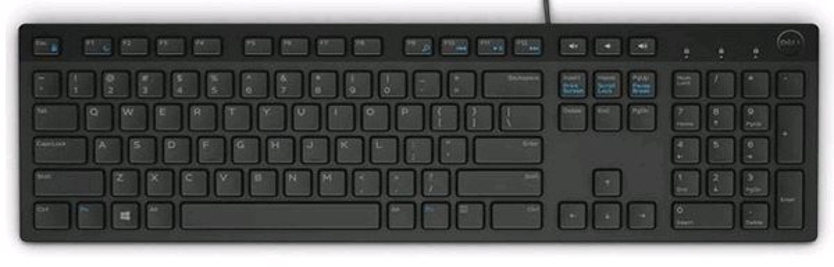 Dell KB216, klávesnica, multimediálna, SK