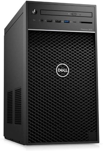 DELL Precision 3630 Core i7-9700K/16GB/512GB SSD + 2TB/Quadro P2200/DVD RW/Kb/Mouse/W10Pro/vPro/3Y ProSpt