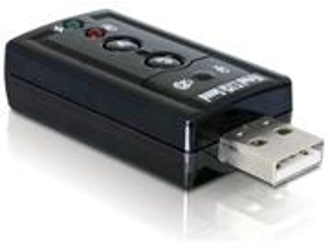 Delock externá zvuková karta 7.1 (virtuálna) USB 2.0
