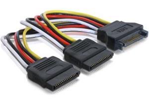 DeLock WD Power Adapter SATA na 2xSATA