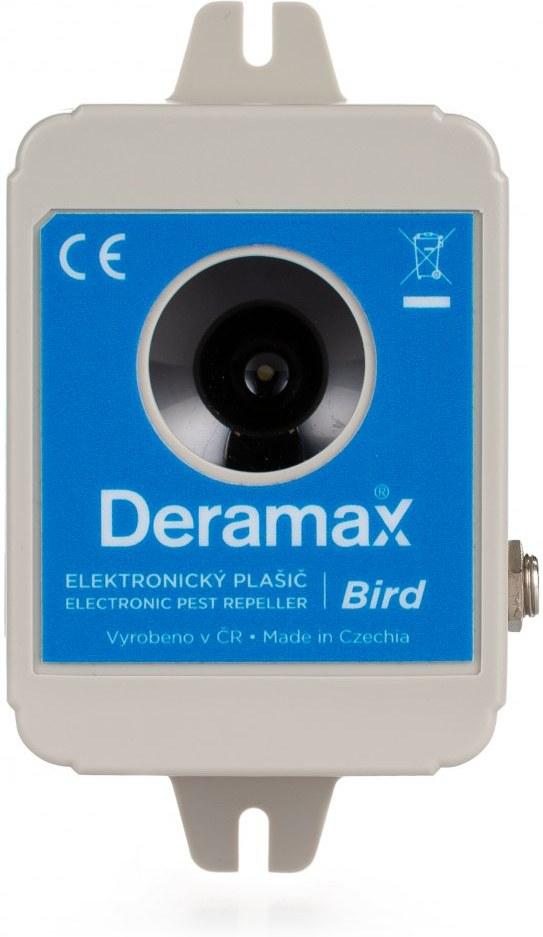 Deramax Bird, ultrazvukový plašič/odpudzovač vtákov