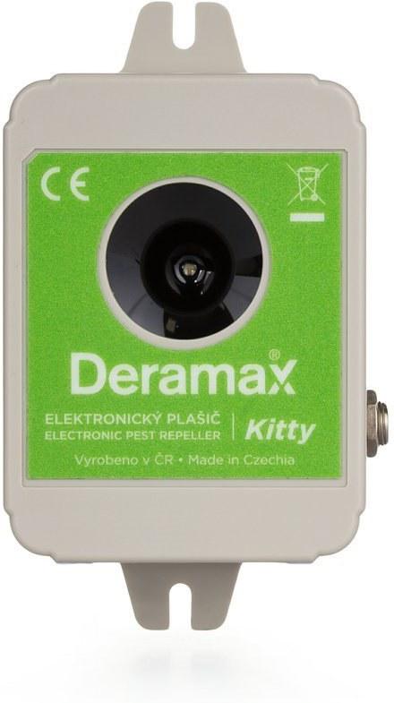Deramax Kitty, ultrazvukový plašič/odpudzovač mačiek a psov
