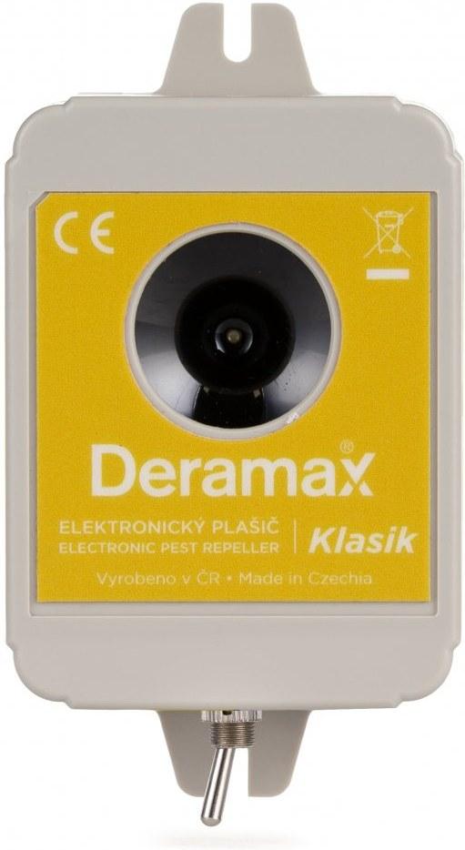 Deramax Klasik, ultrazvukový plašič, odpudzovač kún a hlodavcov