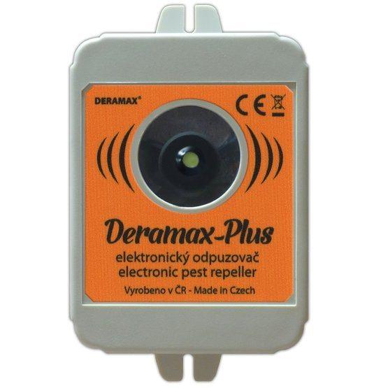 Deramax Plus, ultrazvukový plašič/odpudzovač kún a hlodavcov