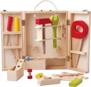 Detské náradie Woody v dřevěném boxu