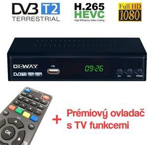 DI-WAY PRO-2020 DVB-T2 HEVC H.265