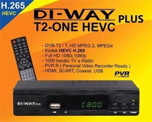 DI-WAY T2-ONE plus HEVC H.265 DVB-T/T2