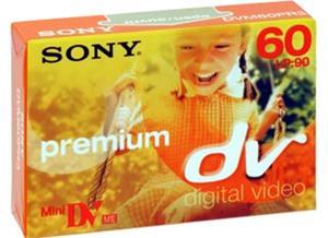 Digitálna kazeta miniDV Premium(60min/LP:90min)