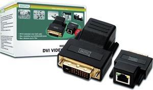 Digitus DVI predlžovač po Cat5 kábli až na 70.0m, extender
