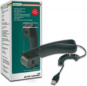 Digitus USB DA-70772, slúchadlo