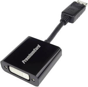 DisplayPort-DVI redukcia M/F, 0.15m, adaptér