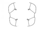 DJI Mavic 2 - Ochranné oblúky