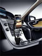 Držák na telefon Technaxx TE06 včetně USB nabíječky