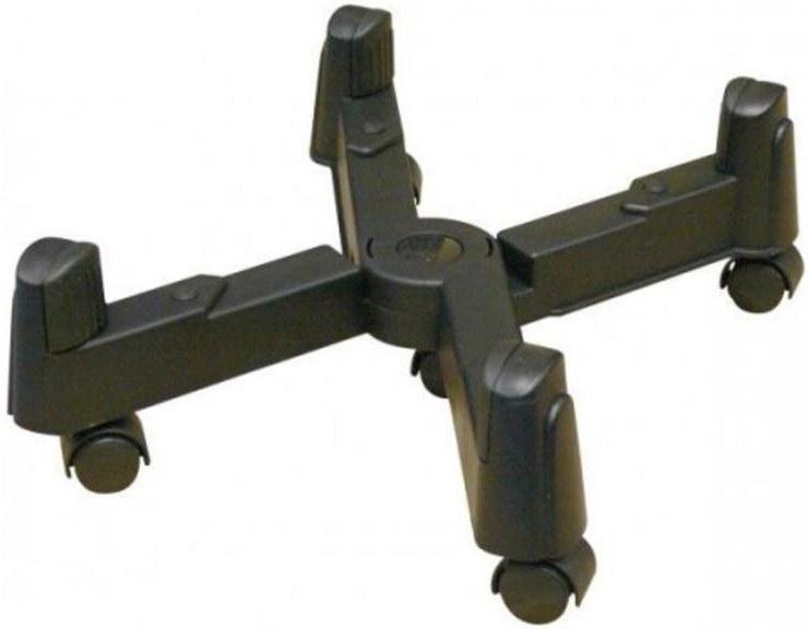 Držiak pre PC na zem, 3 - 25,5 cm, čierny