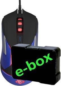 E-Blue Auroza Gaming V2, myš, čierna