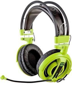 E-Blue, Cobra I, slúchadlá s mikrofónom, zelené