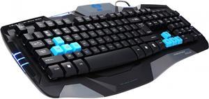E-Blue Combatant- EX, herná klávesnica, čierna