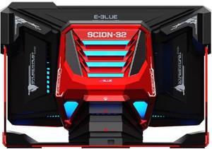 E-Blue Scion 32, konfigurovatelný All-in-One, červený