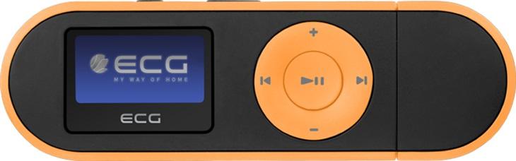 ECG PMP 20 4GB Black&Orange, MP3 prehrávač