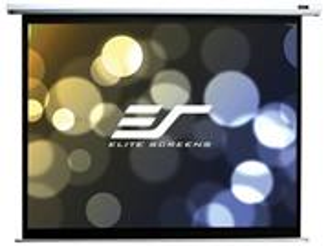 """ELITE SCREENS plátno elektrické motorové 110"""" (279,4) cm)/ 16:9/ 137 x 244 cm/ Gain 1,1/ case bílý"""