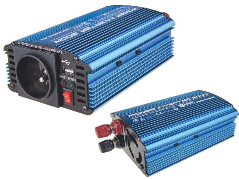 6ae567262ad01 Emos CARBOOST 300 - Menič napätia 12V/230V, 300W, USB 800mA ...
