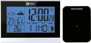 Emos E3070, LCD domáca bezdrôtová meteostanica