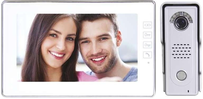 EMOS H1019 sada farebného videovrátnika s pamäťou, biela