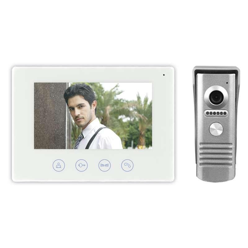Emos H2014, WiFi domáci videotelefón, farebná sada, biela