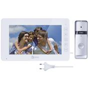 """Emos H2015, domáci videotelefón 7"""", farebná sada, biely"""