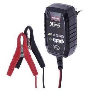 Emos N1015, nabíjačka autobatérií, 6 / 12V 0,8A