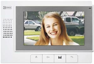 """EMOS RL-03, domáci videotelefón 7"""", biely"""