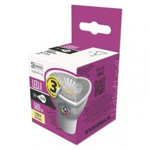 Emos ZQ8353. LED žiarovka Classic 7W GU10 teplá biela Ra96