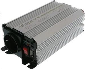 EnerGenie menič napätia AC/DC 12V(automobil) na 230V 300 W, USB 1A