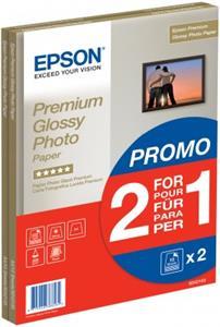 Epson A4, Premium 255g/m2, lesklý, 2x15ks