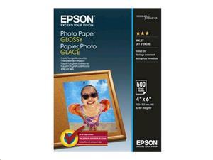Epson A6 Fotopapier, 200g/m2, lesklý, 10x15, 500ks