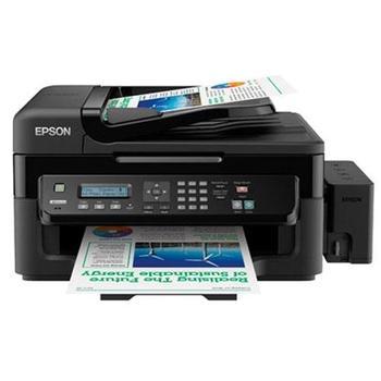 Epson L550 MFP (ink), A4, 33/15ppm, USB, net, ADF + súprava dopĺňania